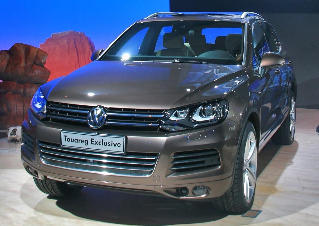 VW Tuareg NF